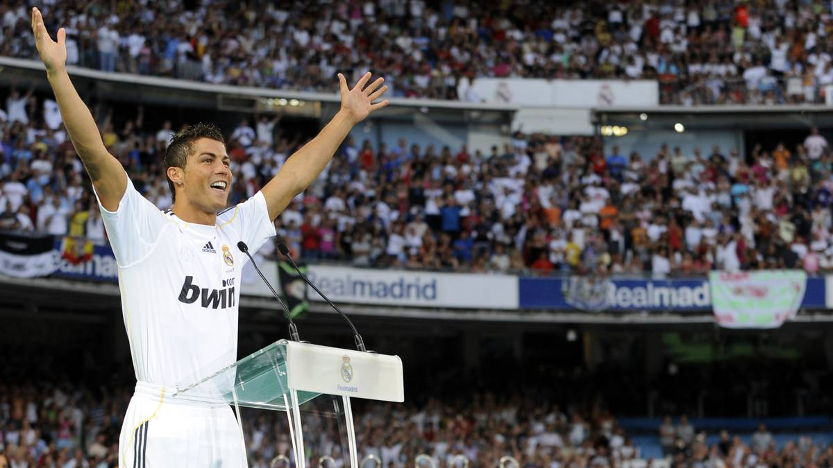 Real Madrid's new player Portuguese Cris