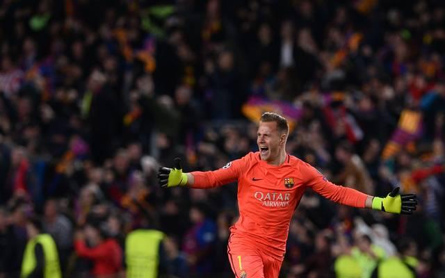 Champions League, Achtelfinale, Marc-Andre ter Stegen, Barca, PSG, FC Barcelona, Paris Saint-Germain