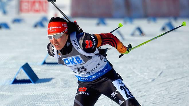 Laura Dahlmeier verpasste beim Weltcup-Finale in Tjumen das Podest