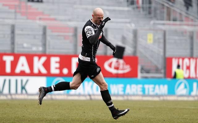 Matthias Morys traf gegen die Spielvereinigung Unterhaching doppelt