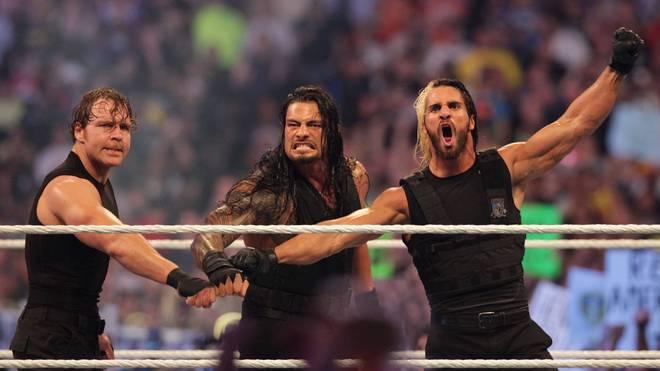WWE Wrestling Dean Ambrose, Roman Reigns und Seth Rollins