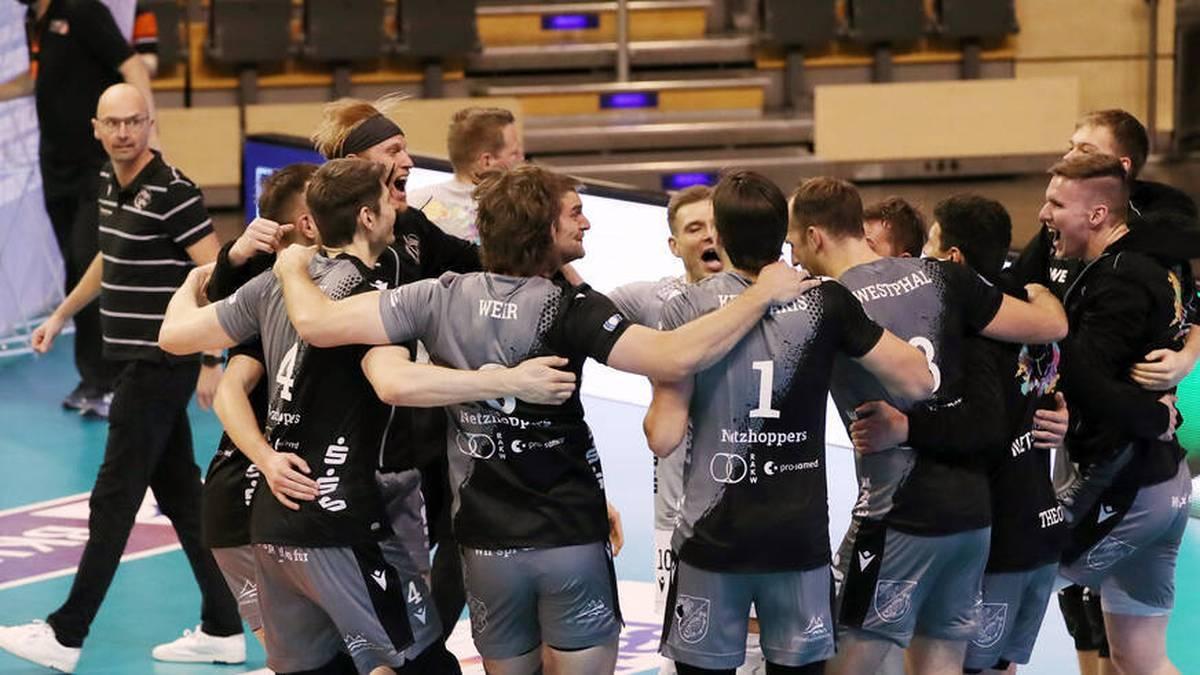 Netzhoppers wollen ins Finale des DVV-Pokals