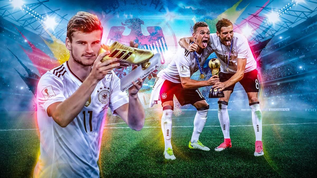 Mit dieser Machtdemonstration hätten dann doch nicht viele gerechnet. Das deutsche B-Team gewinnt den FIFA Confederations Cup - und viele Spieler betreiben Eigenwerbung in Sachen WM 2018. SPORT1 beleuchtet, welche Sieger sich ein WM-Ticket verdient haben - und welche nicht