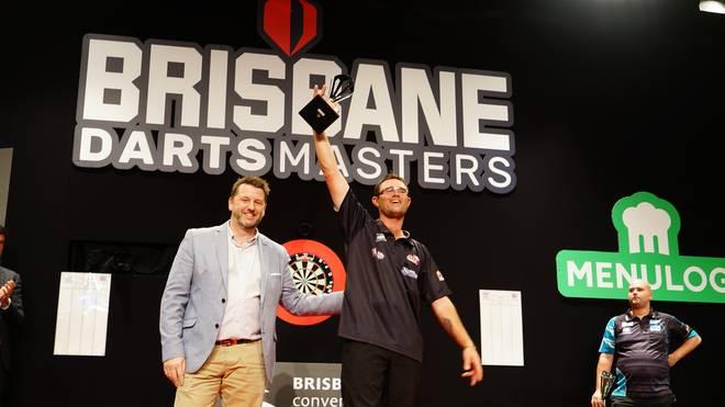 Beim Brisbane Darts Masters ließ Damon Heta die Darts-Elite alt aussehen
