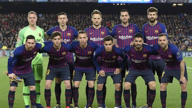 FBL-EUR-C1-BARCELONA-LYON Drei der zehn bestbezahlten Fußballer Europas stehen beim FC Barcelona unter Vertrag