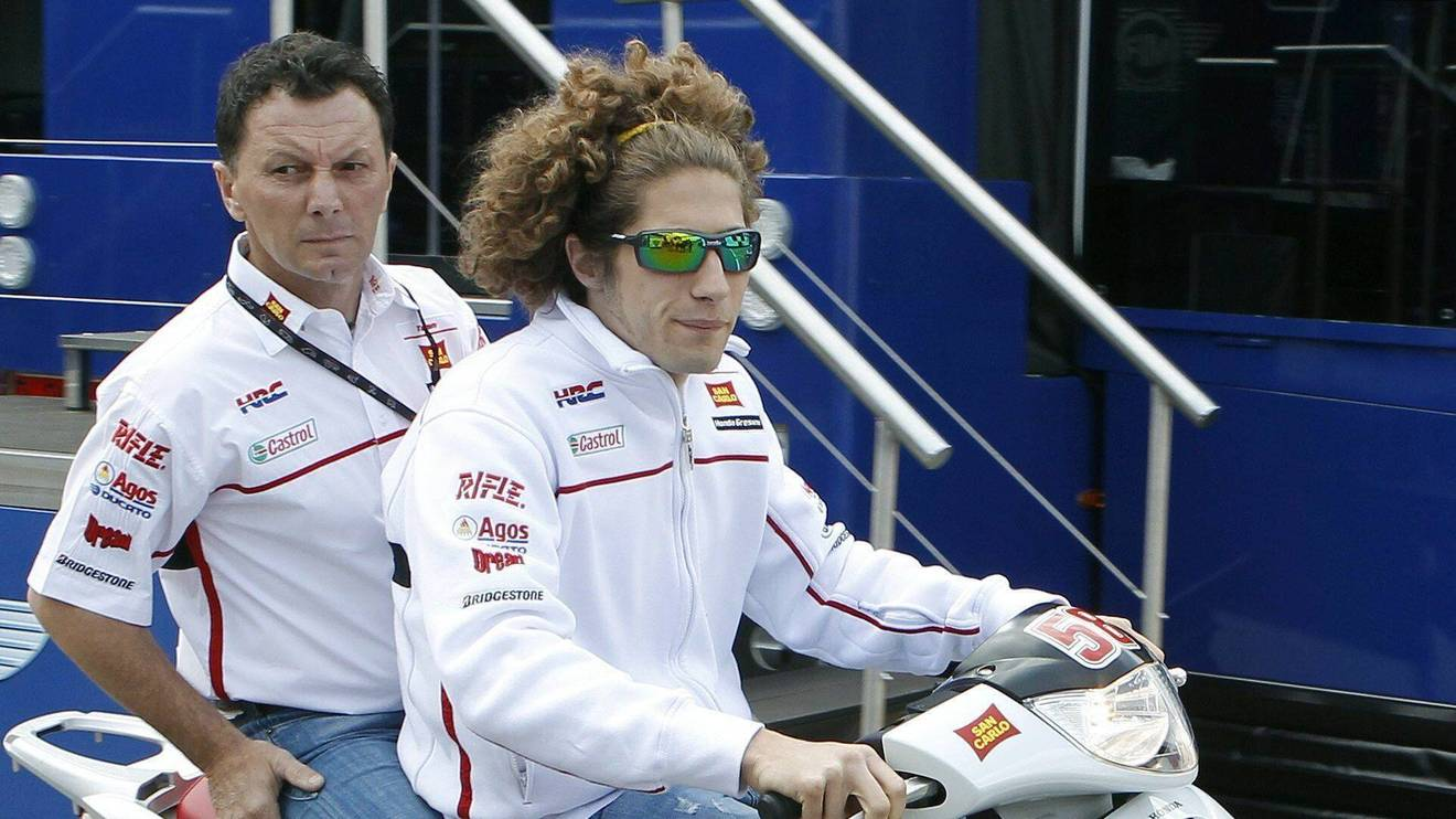 Fausto Gresini war der Teamchef von Marco Simoncelli