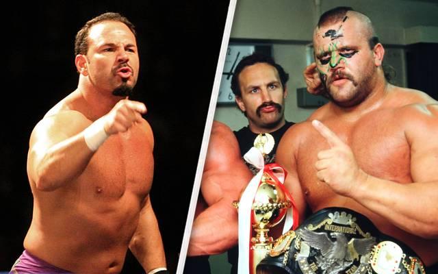 Chavo Guerrero (l.) und Animal verklagen die WWE