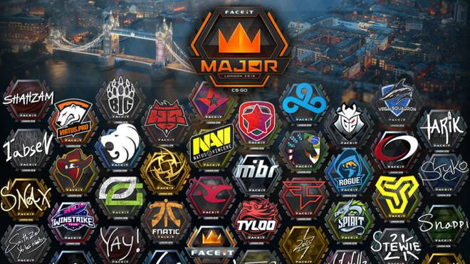 Die FACIT MAJOR PICK'EM Sticker