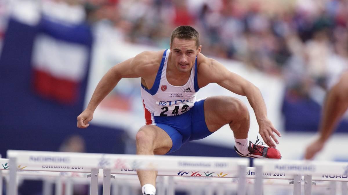 Roman Sebrle durchbricht 2001 die 9000-Punkte-Marke