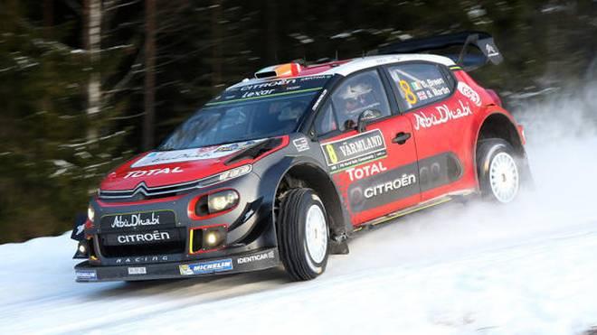 Citroen war beim Rallye-Spektakel in Schweden nur eine Randnotiz
