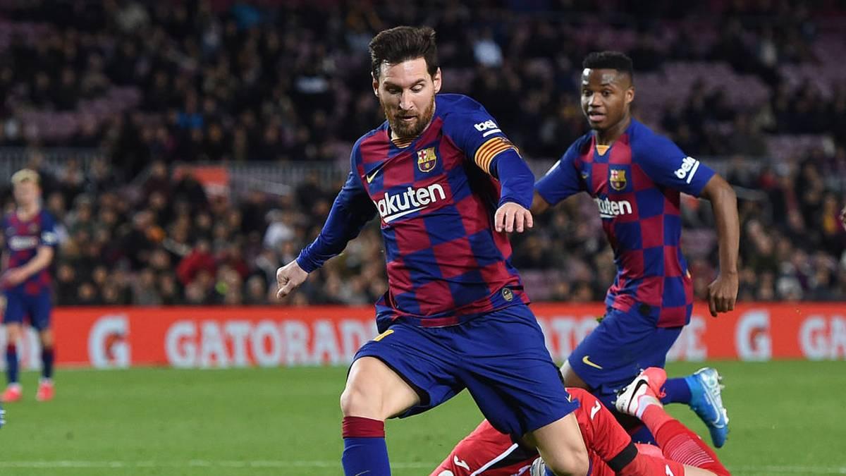 500. Messi-Sieg mit Doppelpack - Barcelona im Viertelfinale