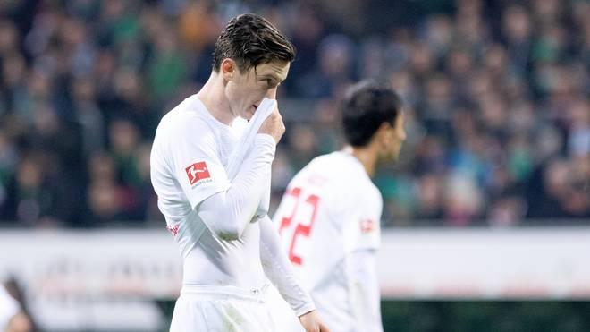 Michael Gregoritsch zeigte sich nach dem Spiel gegen Bremen selbstkritisch