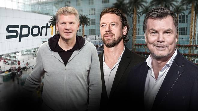 Stefan Effenberg und Steffen Freund werden zusammen mit Moderator Thomas Helmer im CHECK24 Doppelpass diskutieren