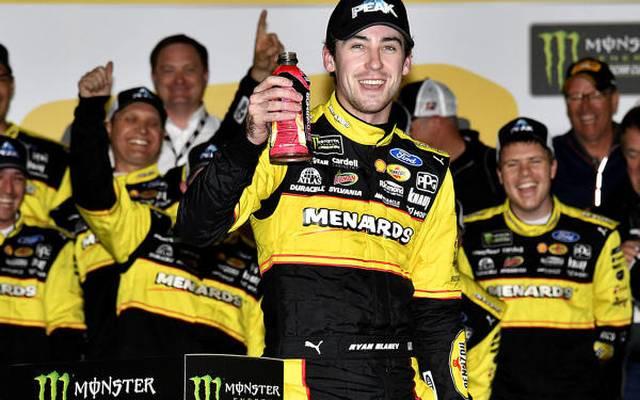 Ryan Blaney ist in der NASCAR-Saison 2018 dritter Fahrer im Penske-Team