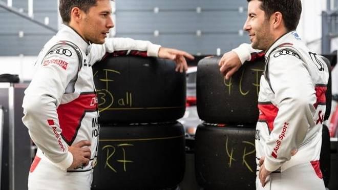 Loic Duval und Mike Rockenfeller ergänzen sich beim Audi-Team Phoenix