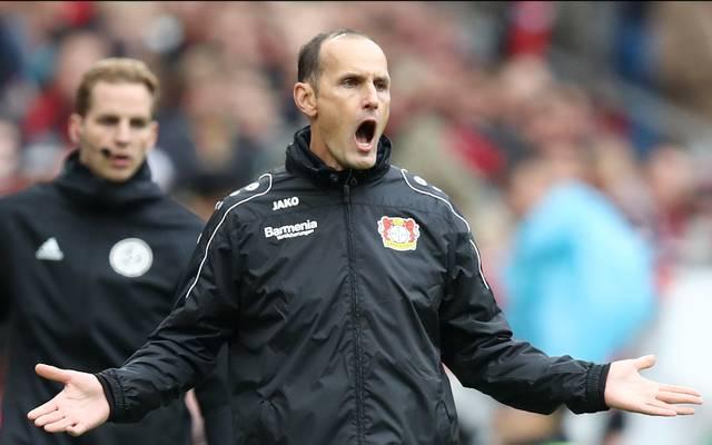 Heiko Herrlich hat mit Bayer Leverkusen einen Fehlstart in die Saison hingelegt