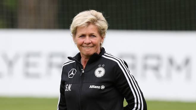 Bundestrainerin Silvia Neid bennent ihren Kader für die EM-Qualifikation