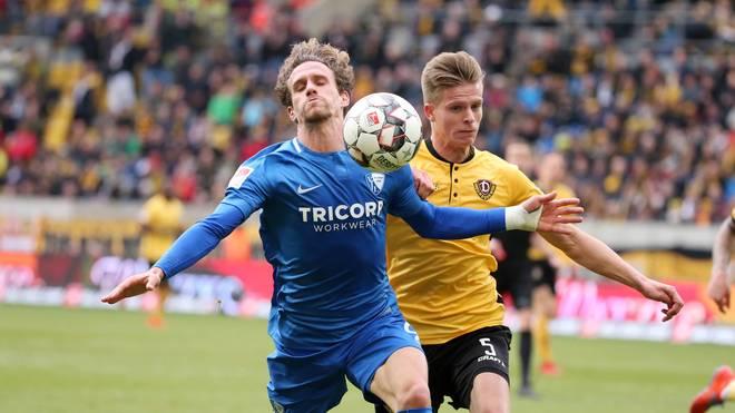 Dynamo Dresden und der VfL Bochum trennen sich unentschieden