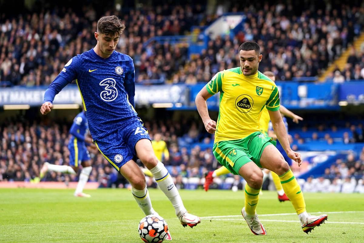Der FC Chelsea feiert einen Kantersieg gegen Tabellenschlusslicht Norwich - Kai Havertz spielt in vorderster Front, bleibt aber ohne Treffer.