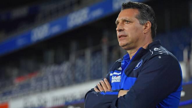 Alois Schwartz hat seinen Vertrag beim Karlsruher SC bis 2021 verlängert