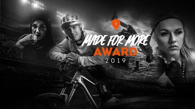 Der MADE FOR MORE AWARD wird 2019 zum ersten Mal verliehen