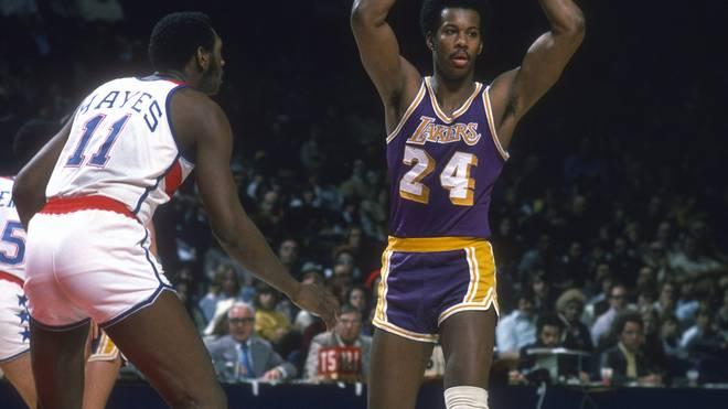 """Kermit Washington agierte bei den Lakers als """"Leibwächter"""" für Kareem Abdul-Jabbar"""
