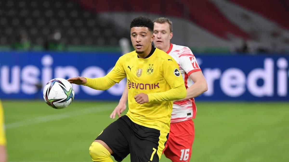 Jadon Sancho steht vor einem Wechsel von Borussia Dortmund zu Manchester United