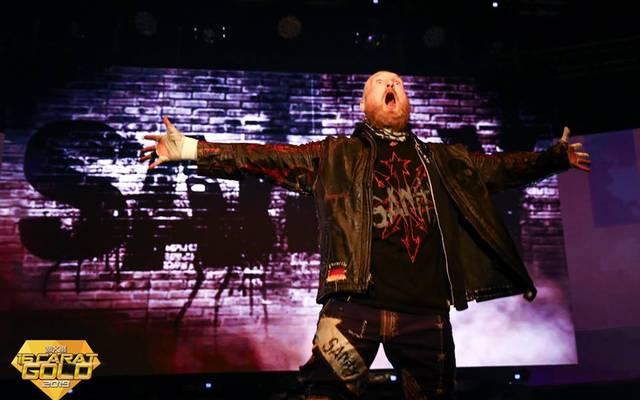 WWE-Wrestler Alexander Wolfe legte bei wXw 16 Carat Gold einen Überraschungsauftritt hin