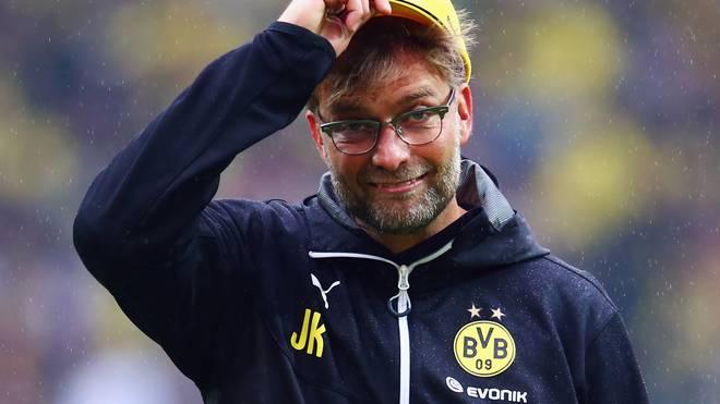 Jürgen Klopp war von 2008 bis 2015 Trainer bei Borussia Dortmund
