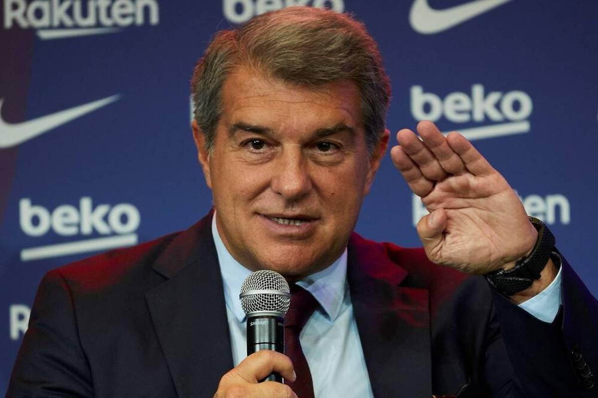 """Trotz finanzieller und sportlicher Schieflage glaubt Joan Laporta an eine gute Zukunft des FC Barcelona. Gerade vom teuren Projekt """"Espai Barca"""" erhofft sich der Präsident viel."""