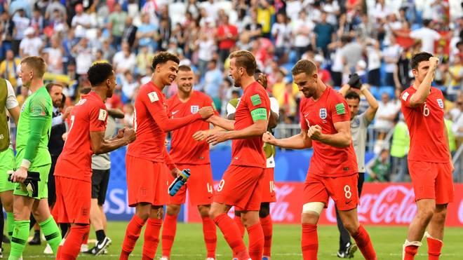England steht erstmals seit 28 Jahren in einem WM-Halbfinale