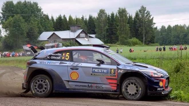 Mehr als Platz sechs war für Thierry Neuville in Finnland nicht drin