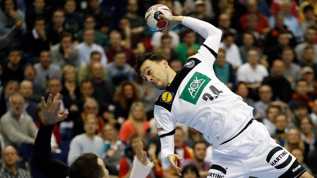 Patrick Groetzki scheiterte zwei Mal an Russlands Keeper Victor Kireev