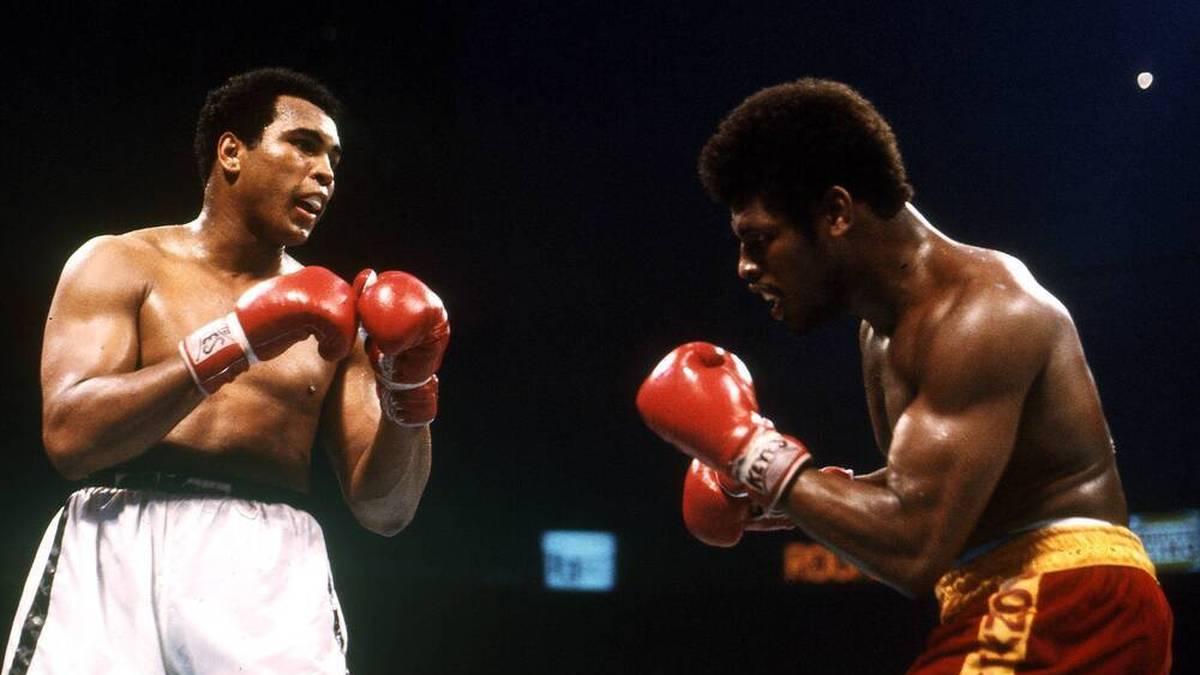 Leon Spinks (r.) entthronte 1978 Muhammad Ali als Weltmeister