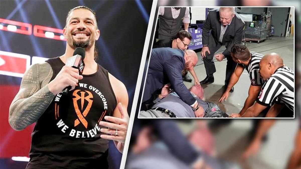 Roman Reigns ist nach seiner Krebs-Erkrankung zurück - Ric Flair wurde von Batista malträtiert
