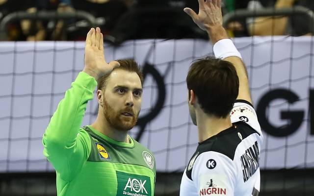 Auch Andreas Wolff (l.) und Uwe Gensheimer fehlen beim All-Star-Game