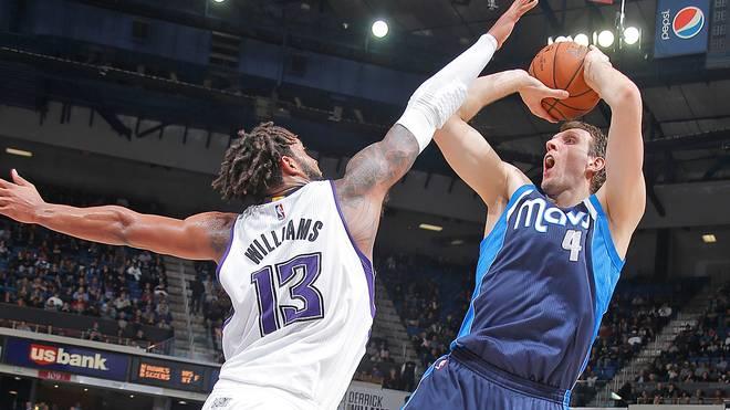 Dirk Nowitzki erzielte gegen die Sacramento Kings 15 Punkte