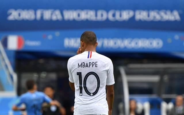 Uruguay - Frankreich LIVE im TV Stream Ticker WM 2018 - Mbappe