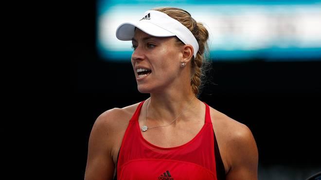 Angelique Kerber steht beim WTA-Turnier in Sydney im Viertelfinale