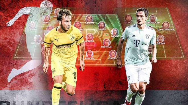 SPORT1 zeigt die voraussichtlichen Aufstellungen zum Bundesliga-Start