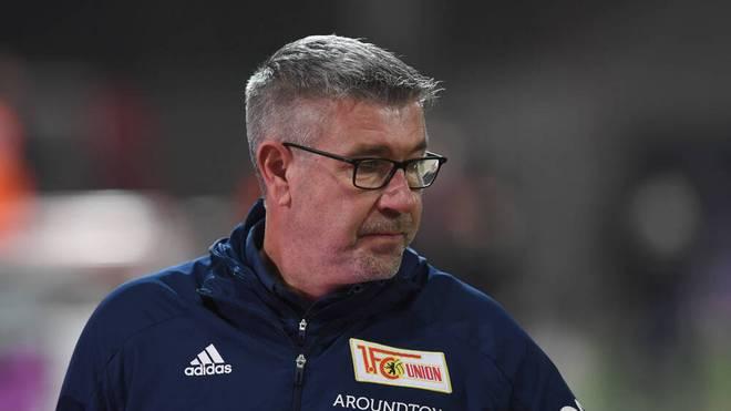 Union-Trainer Urs Fischer bangt vor der Partie gegen den VfB Stuttgart um gleich drei Spieler