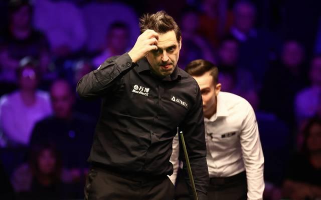 Snooker-Superstar Ronnie O'Sullivan scheitert bei der WM vorzeitig an Anthony McGill
