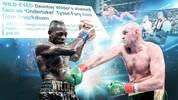 Tyson Fury und Deontay Wilder lieferten sich einen harten Kampf