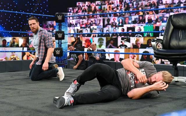 Auch Edge bekam bei WWE SmackDown von Daniel Bryan sein Fett ab