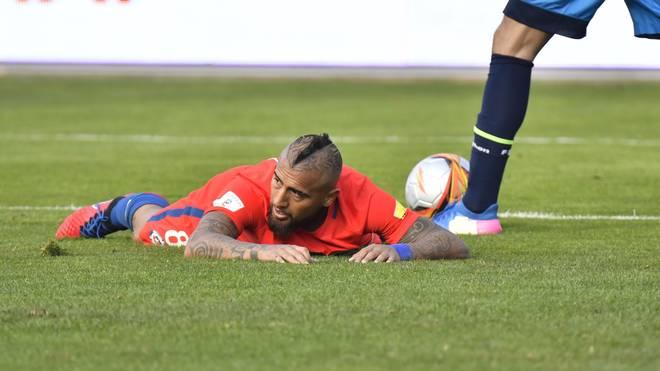Arturo Vidal entschuldigt sich nach seinem Verhalten im Spiel gegen Chile