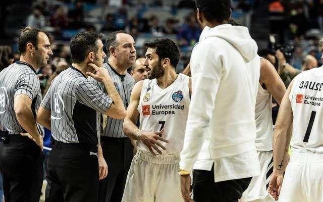 Basketball: Real Madrid kritisiert Schiedsrichter nach Clasico-Pleite