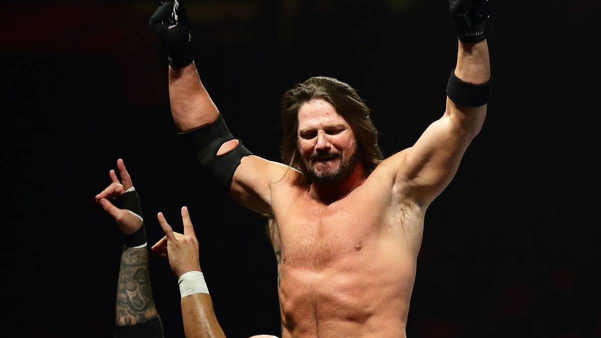 AJ Styles ist seit Anfang 2016 bei WWE