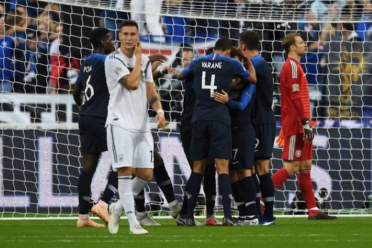 Aus einer 1:0-Führung wird nach dem Seitenwechsel eine 1:2-Niederlage: Deutschland kann auch Frankreich nicht schlagen. SPORT1 hat die Stimmen aus der internationalen Presse.