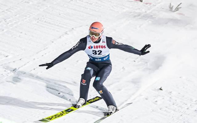 Die deutschen Skispringen verpassten in Zakopane klar das Podest