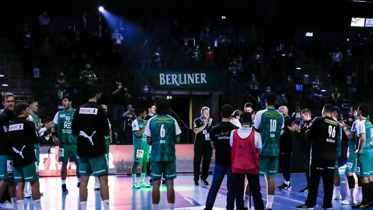 Die Füchse Berlin können nicht gegen Flensburg antreten